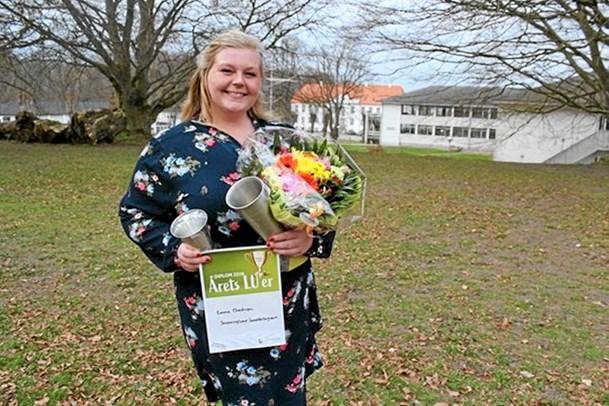 Emma kåret som årets medlem i LandboUngdom