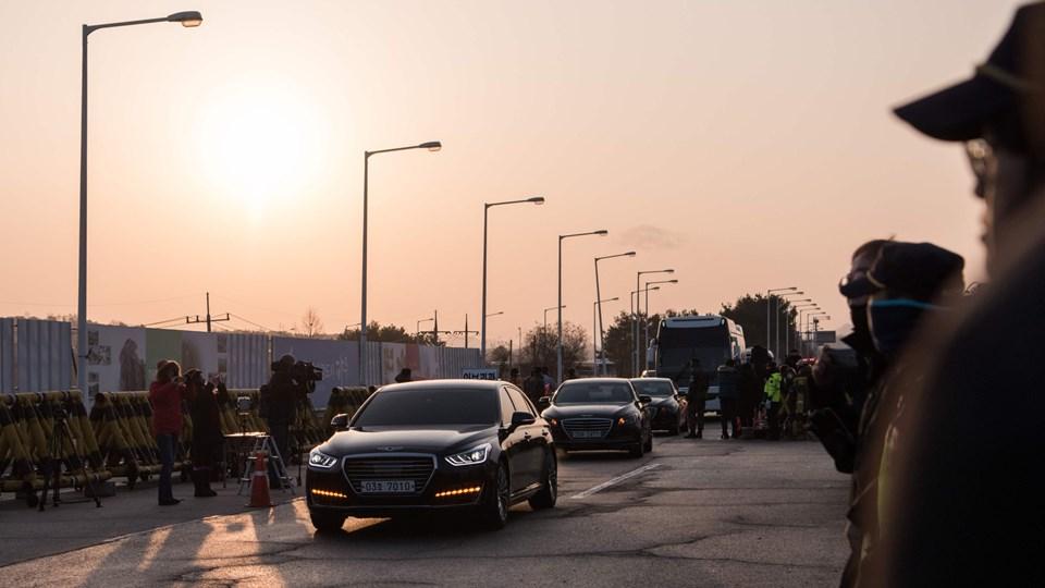 Nordkorea og Sydkorea mødes natten til tirsdag dansk tid i et sjældent møde mellem de to nabolande. Foto: Scanpix/Jenni Lim