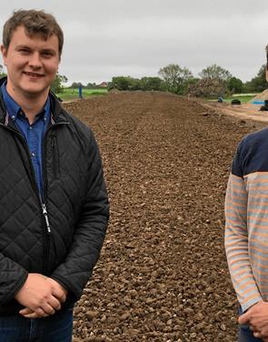 Landbrugsskolen indvier ny bane