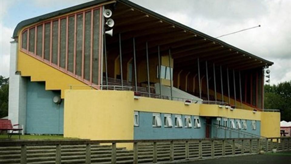 Hvordan skal det nye stadion i Park Vendia indrettes mest praktisk? Nye ideskitser skal give inspiration, så det nuværende, nedslidte, stadion fra 1948 kan udskiftes. Arkivfoto: Bente Poder