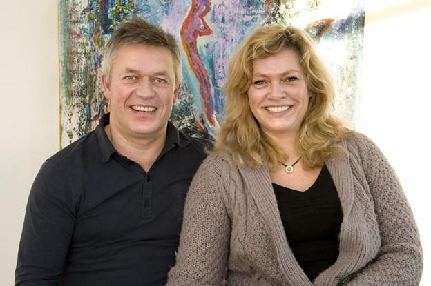 Frank og Bente Størup ser frem til at få mere tid til hinanden i parrets hus i Riisskov, nu hvor de har besluttet at sælge Restaurant Frank's på Sæby Havn. Arkivfoto: Kim Dahl Hansen
