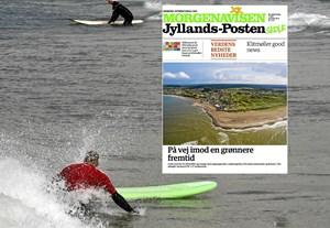 Klasse på Klitmøller Friskole har vundet aviskonkurrence