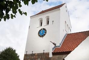 Hørby Kirkes tårnur indvies torsdag