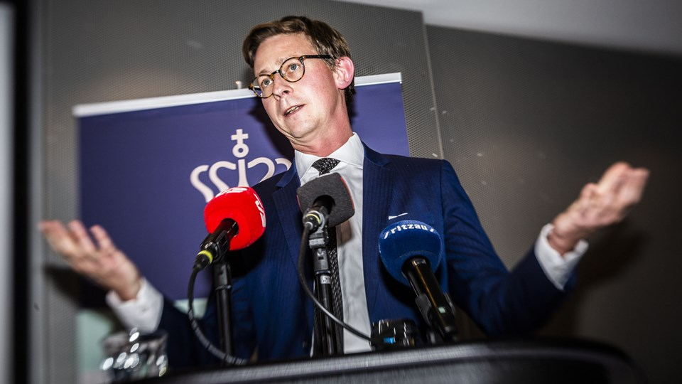 Ifølge skatteminister Karsten Lauritzen (V) er der god fremdrift i arbejdet med at få pengene fra svindlen med udbytteskat hjem.