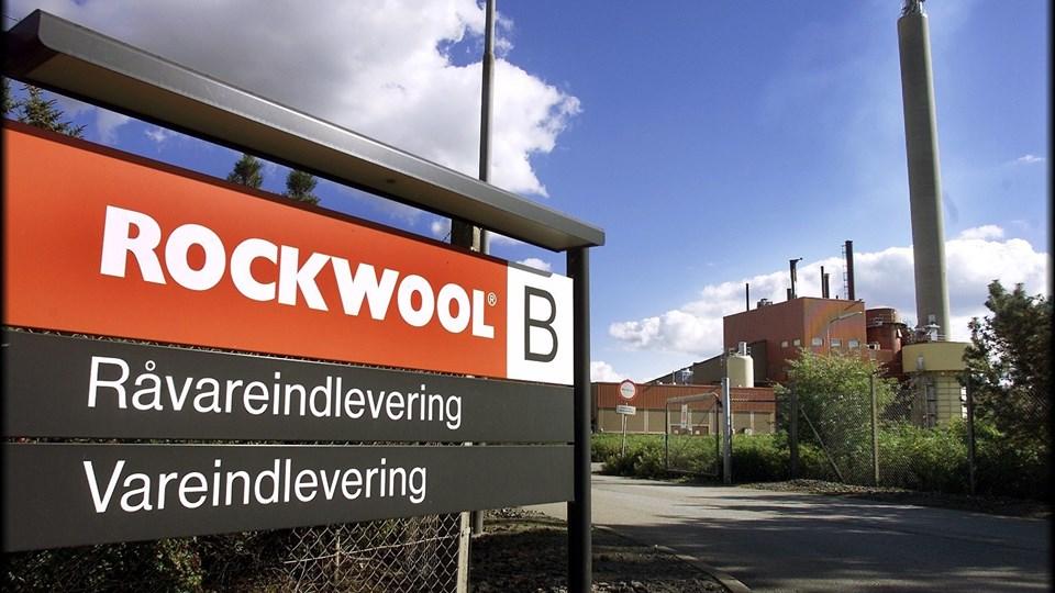 Der bliver nu investeret næsten en halv milliard i Rockwools fabrik i Øster Doense.  Foto: Lars Pauli