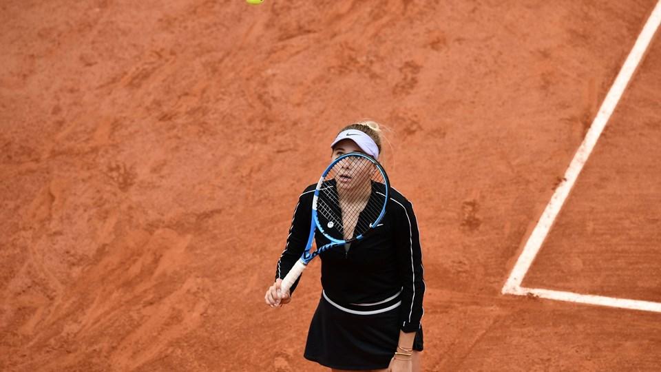 Amanda Anisimova fik sit helt store gennembrud på den internationale tennisscene, da hun nåede semifinalen i French Open tidligere på året.