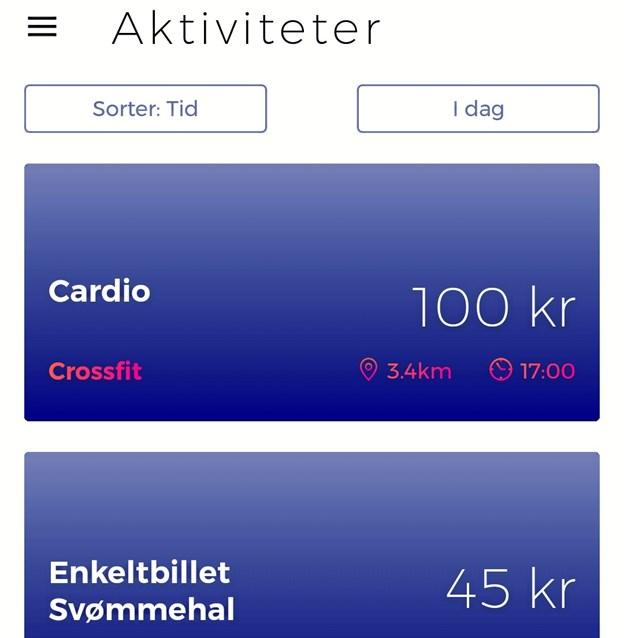 Peakout er en app, der giver dig overblik over, hvor du kan træne uden abonnement. I Aalborg gælder det eksempelvis Haraldslund, Gigantium og flere crossfit centre.