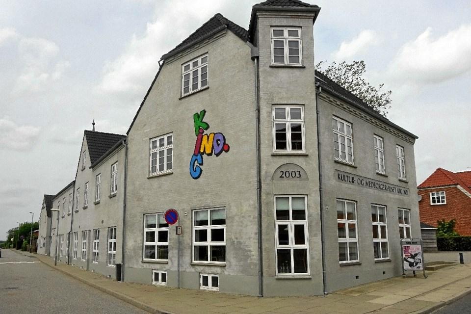 Kultur & Medborgerhuset Kig Ind, Nørager, melder klar til en ny sæson.   Arkivfoto