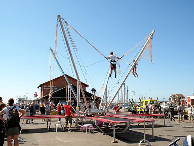 """En såkaldt """"High Jumper"""" vil i efterårsferien være blandt tilbuddene i Jubiland i Messecenter Vesthimmerland. Privatfoto"""