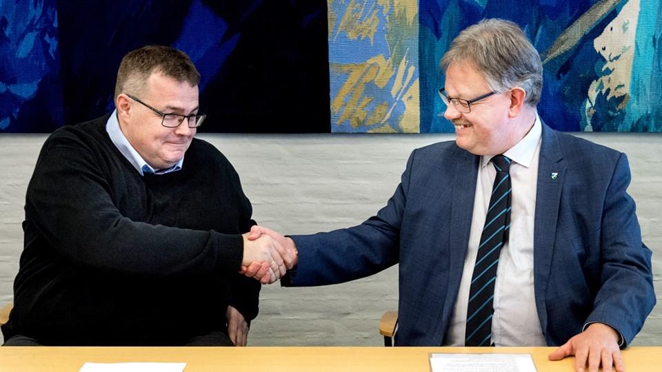 Thomas Olsen kommer fra en stilling i Storvorde, hvor han nåede at drive byens lægeklinik i cirka et år.