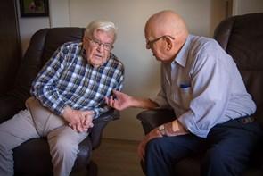 Møde i Bindslev med to ministre om ældrepolitik