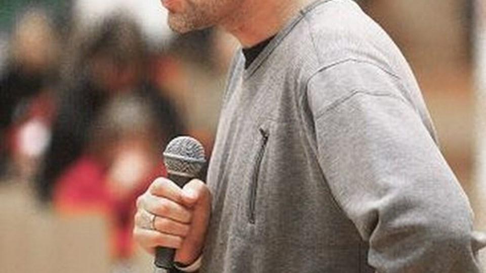 """Skuespilleren Allan Olsen, selv tidligere misbruger, fortæller om """"Et andet liv"""""""