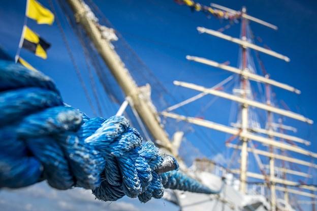 Selvfølgelig ingen regatta uden sejlskibe fra nær og fjern - blandt andet kan du se nærmere på Skoleskibet Danmark.