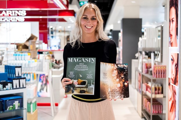 Stormagasinchef Tina Mikkelsen glæder sig over at stå i spidsen for det nye Magasins første jul i Aalborg.