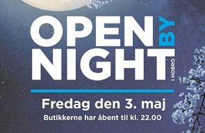 Husk - at Open By Night i Hobro er på fredag