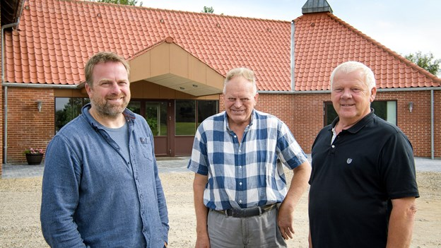 Ny fløj i sognegård klar til indvielse: Projekt var ikke lykkedes uden lokale frivillige