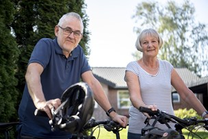 Pensionistpar på to hjul fra Mariager til Verona: - Den mest afslappende ferie nogensinde