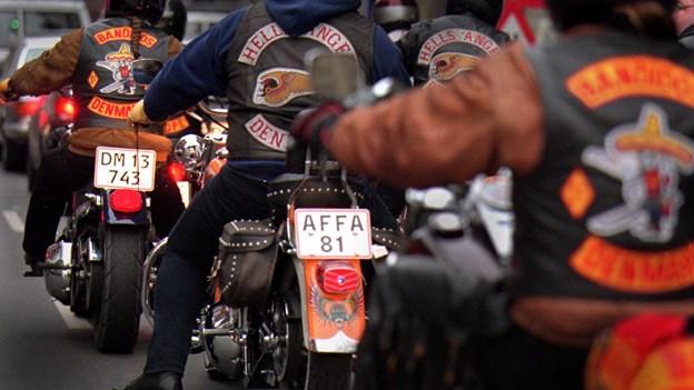 Bandidos-folk fængslet for indbrud og afpresning