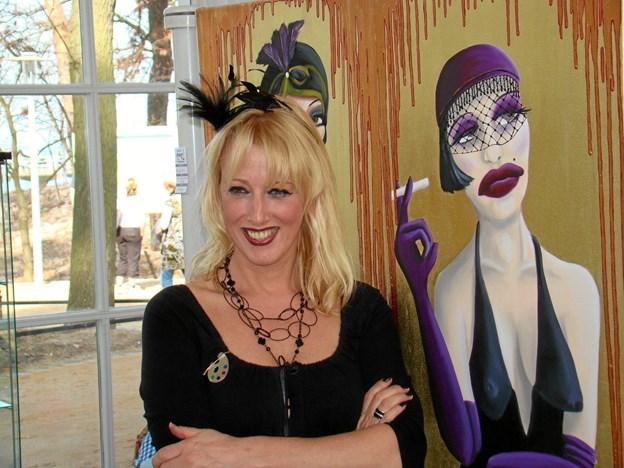 Anja Es er aktuel med sin La Gonzesse-serie. Foto: Mu¨ller