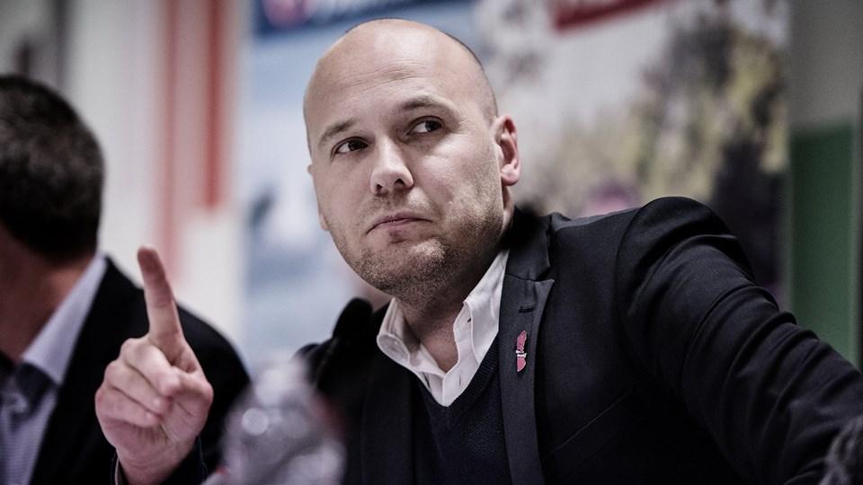 Danske Regioner med chefforhandler Anders Kühnau i spidsen har mandag offentliggjort den præcise liste over, hvem der vil blive ramt af et eventuelt lockout. Foto: Scanpix/Mette Mørk