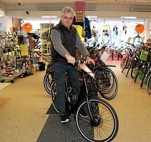 10 År med cykler    i Brovst