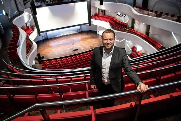 Lasse Rich Henningsen har været direktør for Musikkens Hus siden 2012.