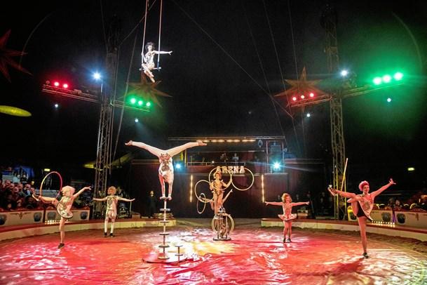 Fejl på cirkus-plakater i Hobro