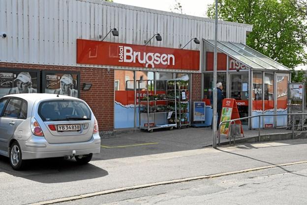 Kunderne håber, at der kommer en anden dagligvarebutik i lokalerne på Refsvej og gerne med den samme butiksleder.Foto: Peter Mørk