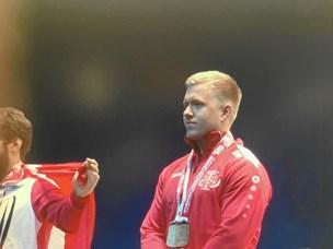 Han løftede bronze ved sit første VM for seniorer