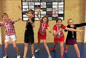 Til kommunemesterskaber i badminton