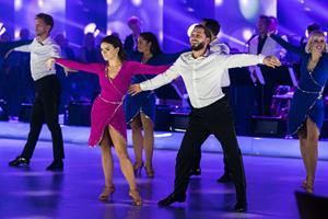 Vild med dans-vinder dansede sig til sejr på forstuvet fod