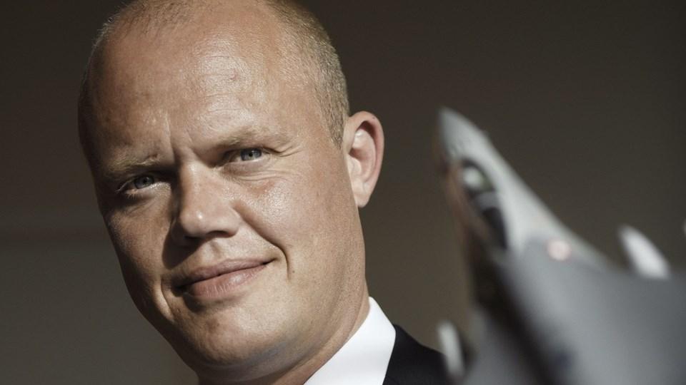 Forsvarsminister betvivler danske bomber mod Assad-styrker Foto: Scanpix/Thomas Lekfeldt
