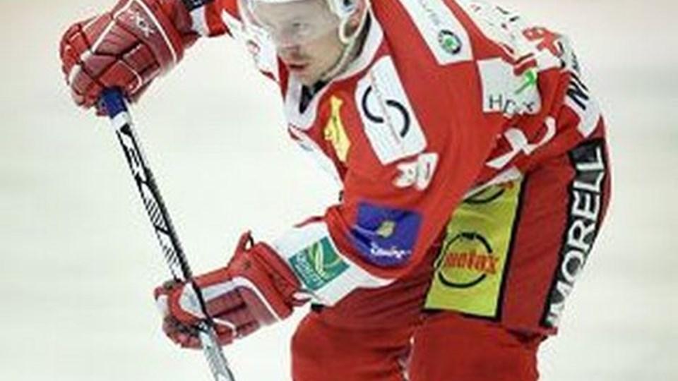 Jacek Nowakowski vil ikke længere spille ishockey for AaB. Det kan ikke hænge sammen økonomisk.Foto: Michael Koch