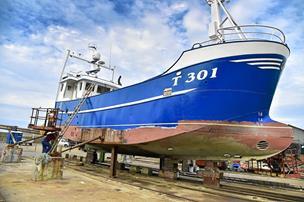Større havn - større skibe: Kronen på værket er en større bedding