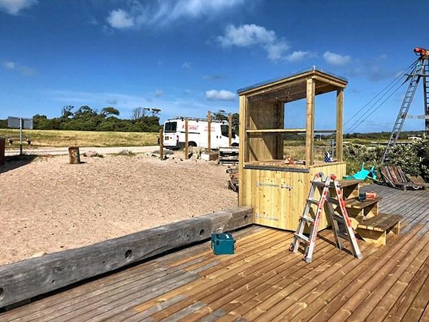 Thy Cable Park tager imod alle dem der vil se wakeboard på topniveau lørdag, når der er Danish Wake Board Tour på vandet i Synopalhavnen. Privatfoto: FJ Byg