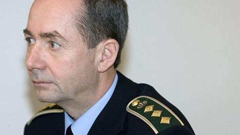 Chefpolitiinspektør Jørn Aabye mener ikke, at borgerne vil mærke nogen forskel.Arkivfoto