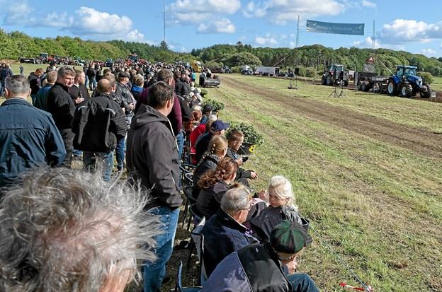 Omkring 1.000 tilskuere var der til Støtteforeningens store arrangement i Mosbjerg. Foto: Niels Helver