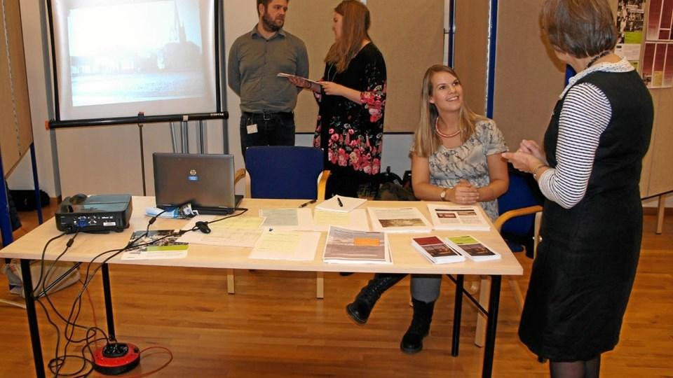 Slægtens Dag blev i 2015 holdt i Manegen i Sæby.Privatfoto