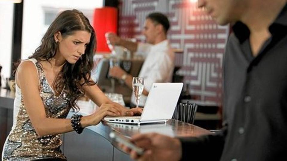 Online dating kan være farligt