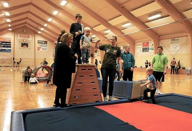 DVIF er glade for alle deres frivillige i klubben. Foto: Privat