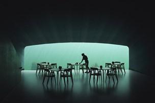 Undervandsrestaurant åbnet ud for den norske sydkyst