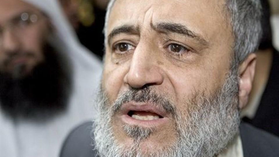 Den mest fremtrædende imam i Danmark, Ahmed Abu Laban, afviser, at han vil rejse fra Danmark. Arkivfoto: Scanpix