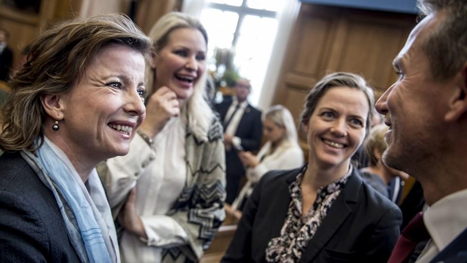"""Sundhedsminister Ellen Trane Nørby (V) vil aflive myten og den """"middelalderlige tankegang"""" om, at kvinder skal bløde efter deres første samleje."""