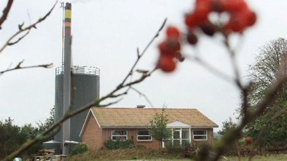 eksplosive prisstigninger på olie/gasmarkedet er resulteret i, at Øland Kraftvarmeværk kommer ud af det forløbne regnskabsår med et underskud på 288.474 kr. Arkivfoto: Martin Damgård