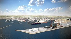 Minister inspireret af besøg på havnen