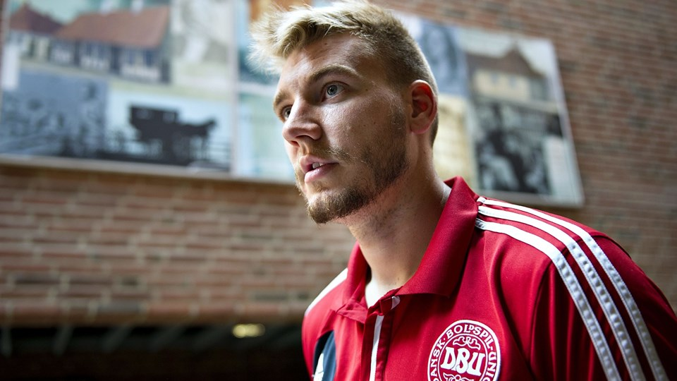 Nicklas Bendtner får ikke debut for Juventus i denne weekend. Foto: Scanpix