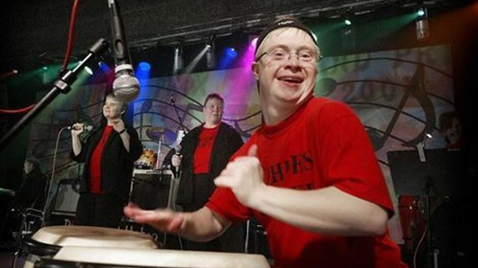 Der var fest og farver, da Hobro sidst var vært for et grand prix for handicapbands. ARKIVFOTO: HENRIK BO