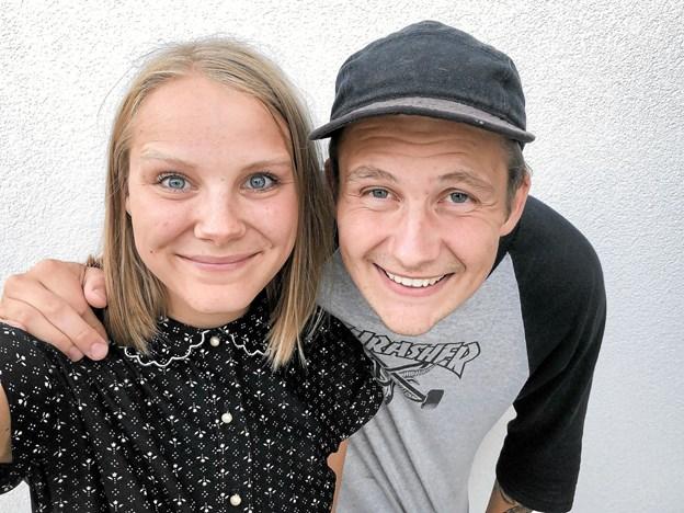 """Der er sket meget i det unge pars liv, siden de i 2016 vandt """"Nybyggerne"""" på TV2. Foto: Privat Privat"""