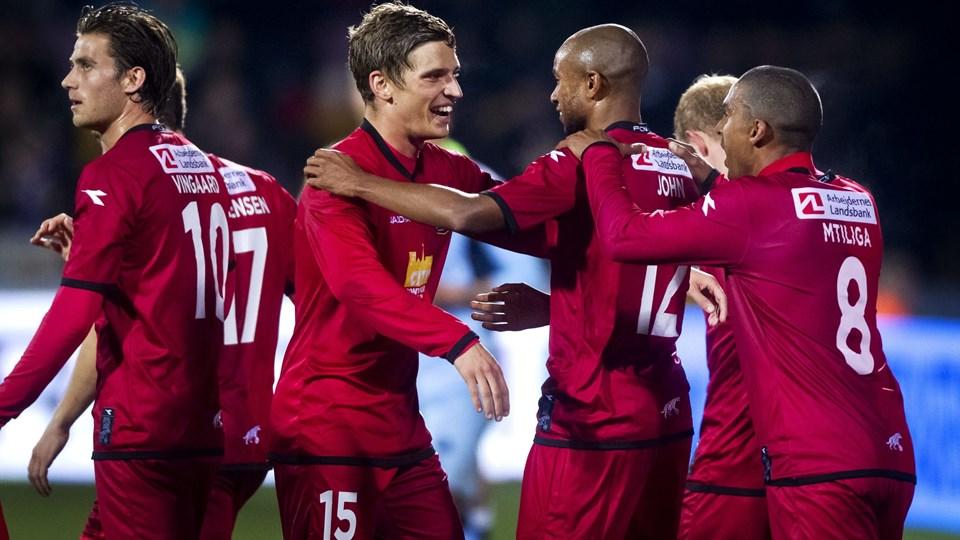 FC Nordjælland smagte efter fire nederlag atter sejrens sødme. Foto: Scanpix
