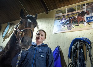Travkusk Trine nr. ti til EM i Firenze: Den hest var der ikke meget piv i